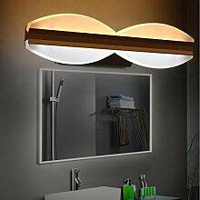 Miaoge Modern minimalistisch Spiegel vorderen Leuchten LED Eisen Acryl Wand Farbe Aluminium Spiegel vorderen Leuchten 500mm 24W