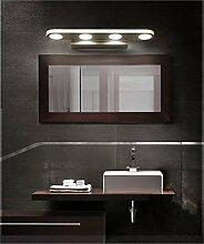 Miaoge Nordic modern minimalistisch LED wasserdicht Spiegel Frontleuchte weiß Bad Spiegelschrank Lampe Wand Makeup Lampe Spiegelleuchte weiß 580mm 18W