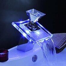 miaoge Waschbecken Wasserhähne mit Farbwechsel