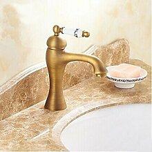 miaoge Waschbecken Wasserhahn mit Messing Antik