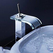 miaoge Zeitgenössische Wasserfall Waschbecken