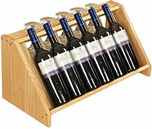 MIAOLIDP Wand-Weinregal Dekoration Weinglas Halter