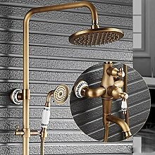 MIAOMIAOLI Duschset Duscharmatur Set mit einem