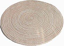 MIAORUIQIN Teppich, Chenille Weben Circular
