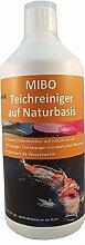 MIBO Teichreiniger auf Naturbasis 1000 ml Teichsauger Teichschlammentferner Teichklärer