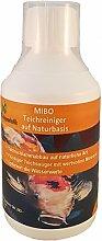 MIBO Teichreiniger auf Naturbasis 250 ml Teichsauger Teichschlammentferner Teichklärer