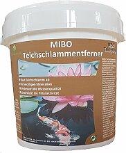MIBO Teichschlammentferner 1kg Teichpflege Mulmabbau Gartenteich