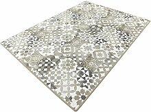 Mica beige HEVO® Kettel Teppich 200x400 cm