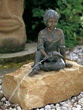Michel Bronzefigur Skulptur aus Bronze echte