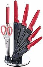 Michelino 8-teiliges Edelstahl Messer-Set mit