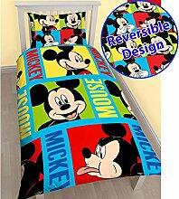 Mickey Maus Einzelner Bettbezug und