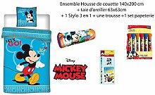 MICKEY Micky Maus Bettwäsche, 2-teilig, für