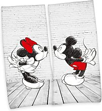 Mickey & Minnie Partner-Badetuch