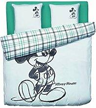 Mickey Mouse Disney Bettbezug 240 x 220 cm + 2