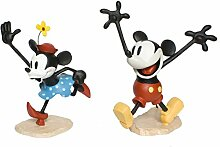 Mickey Mouse und Minnie Mouse historische