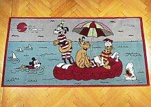 Mickey Mouse Vorleger, 1950er