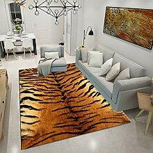 MICOKY Teppich Animal Print Druck Schlafzimmer