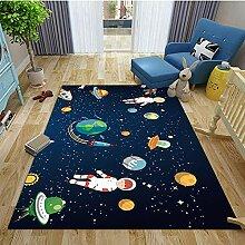 MICOKY Teppich Star Home Wohnzimmer Arbeitszimmer