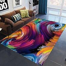 MICOKY Teppich Vision Home Wohnzimmer Teppich