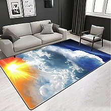 MICOKY Teppich Wohnzimmer Rechteckige 3D Baby