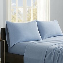 Micro Fleece-Bettlaken-Set Größe: Twin, Farbe: