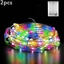 Micro LED Lichterkette Batterie, Nasharia 30 LED