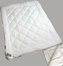 Microfaser 4 Jahreszeitenbett 200x200cm 830+1050 Gramm Zudecke Bettdecke