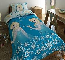 Microfaser Bettwäsche Mädchen Frozen Bettbezug