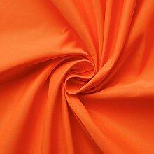 Microfaser Fahnenstoff Stoff Meterware (orange)