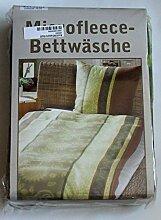 Microfaser Fleece-Bettwäsche »Ornamentic« 135 x