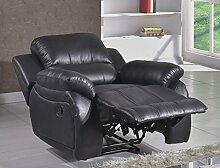 Microfaser Relax-Sofa Mikrofaser Relaxsessel Fernsehsessel 5129-1-MS