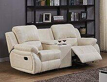 Microfaser Relaxsofa Sofa Relaxsessel
