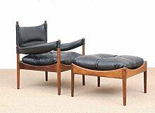 Mid-Century Danish Modern Lounge Sessel mit