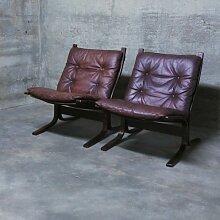 Mid-Century Siesta Sessel aus Leder von Ingmar