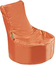 MID.YOU SITZSACK Uni , Orange, Kunststoff, 120 L,