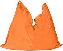 MID.YOU SITZSACK Uni , Orange, Kunststoff, 390 L,