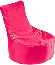 MID.YOU SITZSACK Uni , Pink, Kunststoff, 120 L,