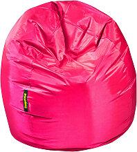 MID.YOU SITZSACK Uni , Pink, Kunststoff, 300 L,