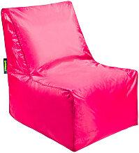 MID.YOU SITZSACK Uni , Pink, Kunststoff, 320 L,