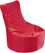 MID.YOU SITZSACK Uni , Rot, Kunststoff, 120 L,