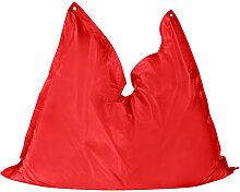 MID.YOU SITZSACK Uni , Rot, Kunststoff, 250 L,