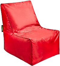 MID.YOU SITZSACK Uni , Rot, Kunststoff, 320 L,