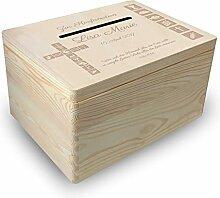 MidaCreativ gr. Holzbox Briefbox (K2) Konfirmation
