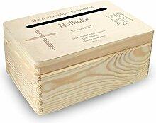 MidaCreativ kl. Holzbox Briefbox (K1) Konfirmation