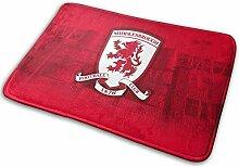 Middlesbrough Fußmatte, Fußmatte, Teppich für