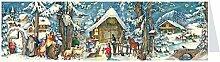 Midi-Panorama-Adventskalender - Weihnachten auf