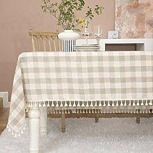 Midsummer Breeze Tischdecke aus Baumwollleinen,