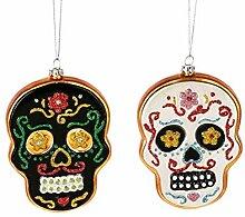 Midwest-CBK Mexikanische Totenkopf-Ornamente aus