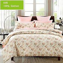 Mieoson Bettwäsche Pink Flower Pattern