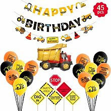 MIFIRE Kinder Baby Happy Birthday Deko Luftballons